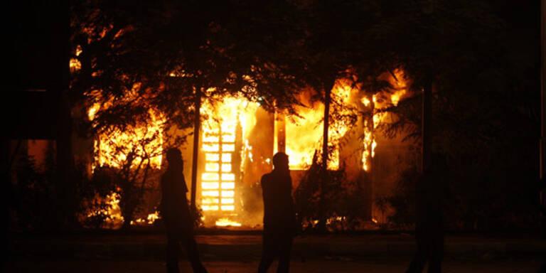 Kairo: Gewalt  vor israelischer Botschaft
