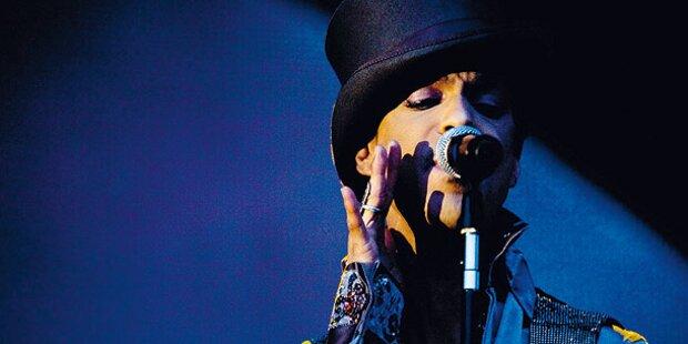 Prince rockt am Dienstag in Budapest