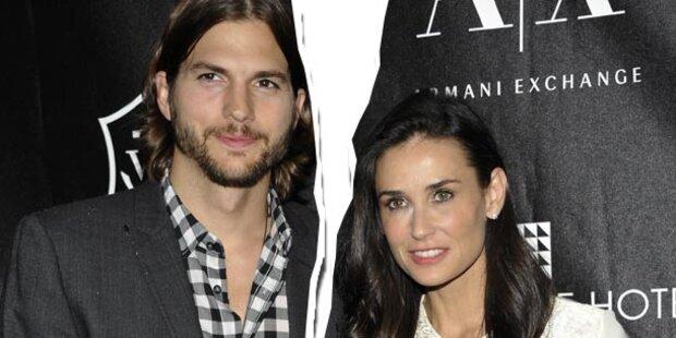 Demi Moore & Ashton Kutcher: Rosenkrieg!