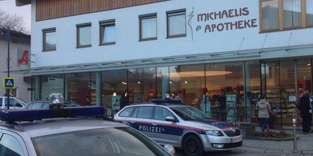 Bewaffneter überfiel Tiroler Apotheke