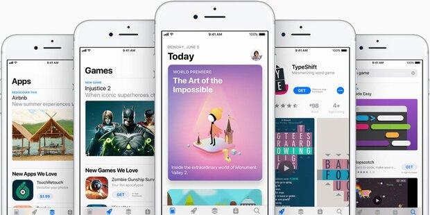 Neuer Rekord für Apples App Store