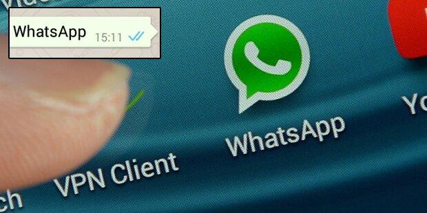 WhatsApp-Nachrichten nie mit einem Punkt beenden