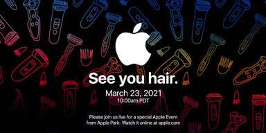 Kuriose Einladung: Bringt Apple jetzt einen Rasierer?