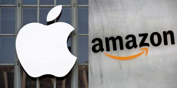 Harter Fight zwischen Apple und Amazon