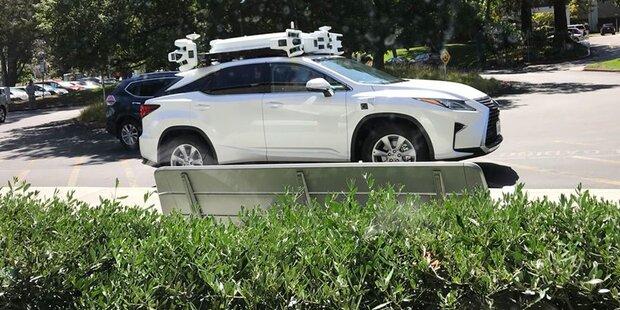 Hier fährt Apples Roboterauto