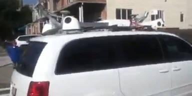 Geheimes Apple-Auto entdeckt