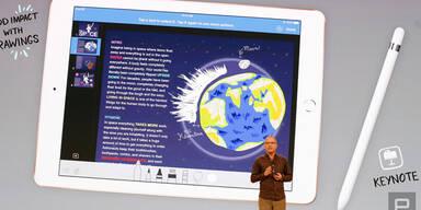 Apple greift mit völlig neuem iPad an