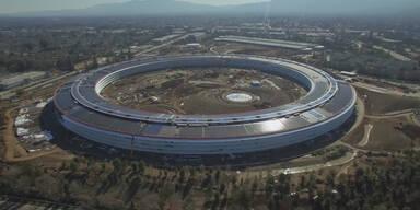 Finale Phase bei Apples Ufo-Hauptquartier