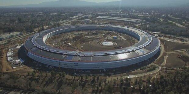 So gigantisch wird Apples Ufo-Hauptquartier