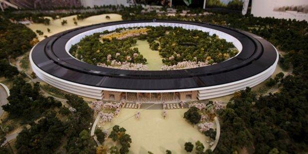 Grünes Licht für Apples UFO-Hauptquartier