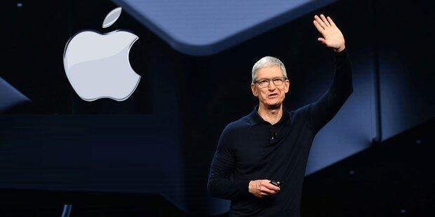 Börsenwert: Apple nähert sich Billionen-Marke an