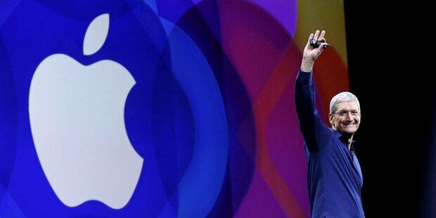 Apple bricht einmal mehr Rekorde