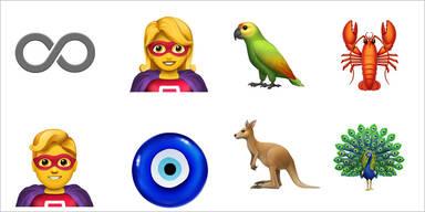 70 neue Emojis für iPhone-Nutzer