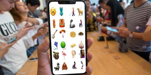 Das sind Apples neue iPhone-Emojis