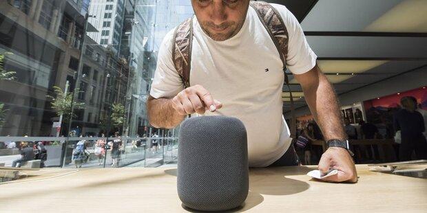 Apple startet HomePod-Verkauf