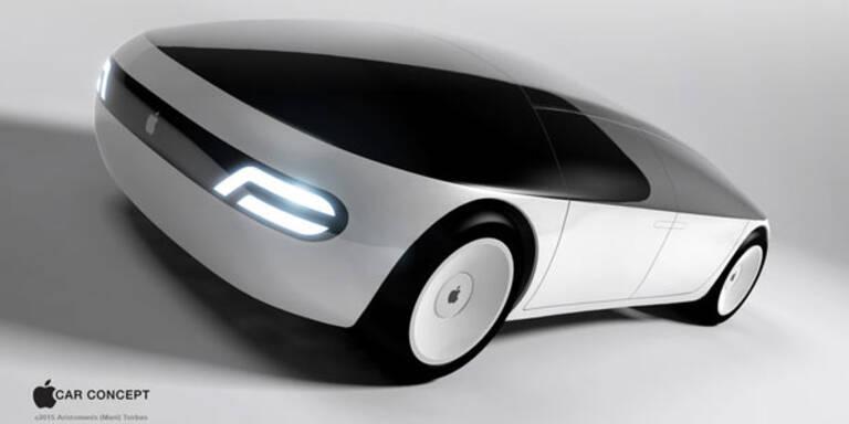 Apple-Auto iCar rollt bald auf Straßen