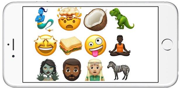 So cool sind die neuen iPhone-Emojis