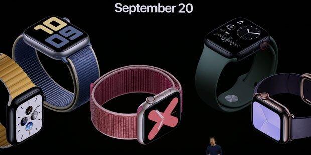 Neue Apple Watch zeigt Uhrzeit jetzt immer an