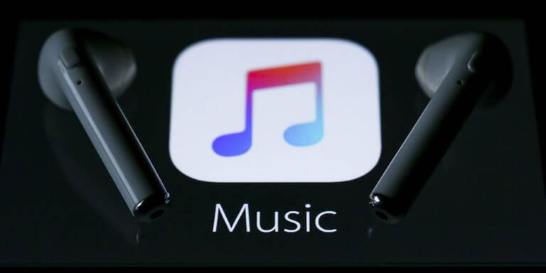 Das sind die Jahrescharts von Apple Music