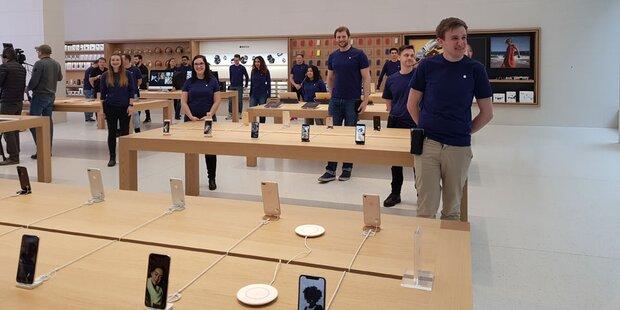So cool ist der Wiener Apple Store
