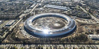 """Apple eröffnet sein """"Ufo""""-Hauptquartier"""