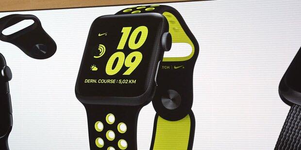 Nike verscherbelt die Apple Watch 2