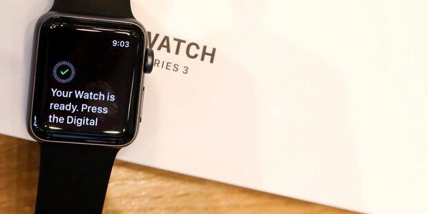 China dreht Apple Watch 3 den Saft ab