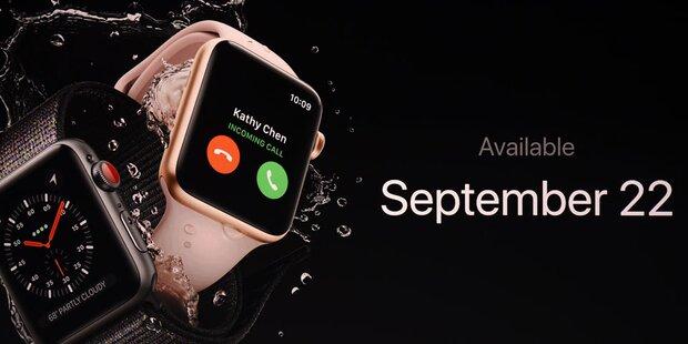 Neue Apple Watch 3 macht Mega-Probleme