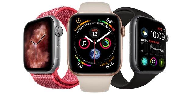 Apple Watch 4 mit LTE ab sofort in Österreich
