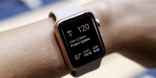 Apple Watch ab 25. September in Österreich