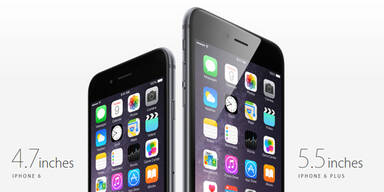 Das sind iPhone 6 und iPhone 6 Plus