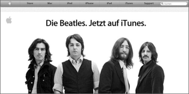 Jetzt gibt es die Beatles auch in iTunes