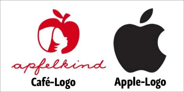 Apple streitet mit Bonner Café um Apfel-Logo