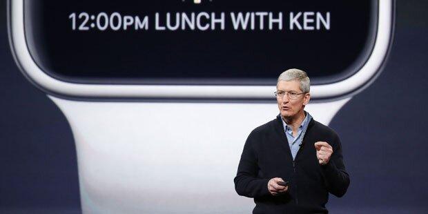 Apple-Chef will ganzes Vermögen spenden