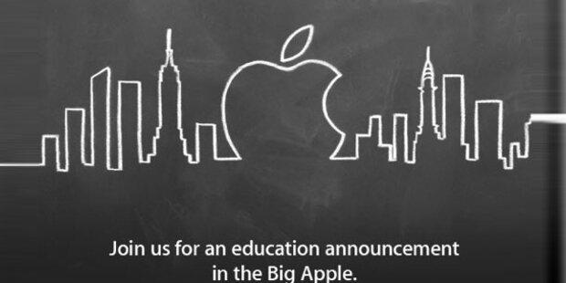Apple stellt am Donnerstag neue Software vor