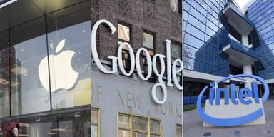 Justiz rügt Chefs von Apple, Intel und Google