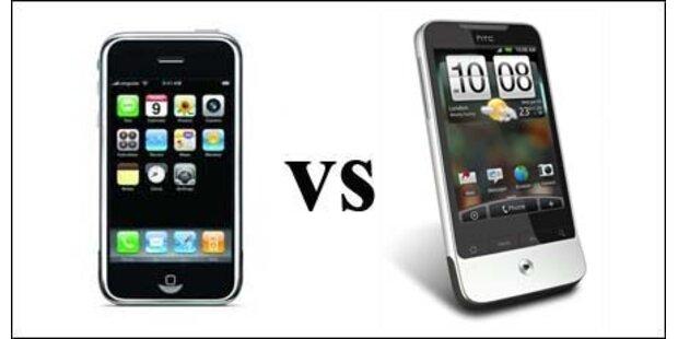 Apple verklagt Smartphone-Profi HTC