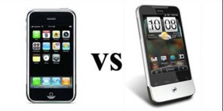 Krieg der Giganten: Apple vs. Google