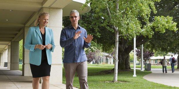 Apple und IBM gründen eine Allianz