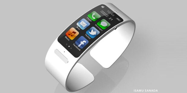iWatch könnte mit flexiblem Display kommen