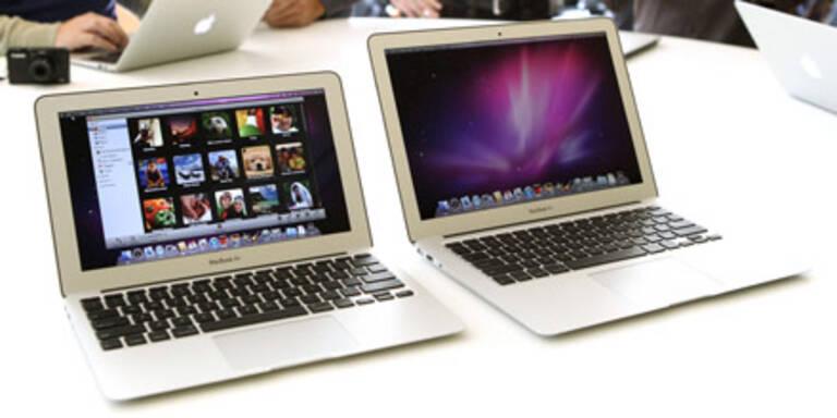 Neue MacBooks Air ab sofort erhältlich