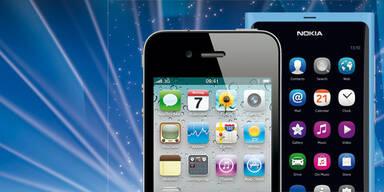 Apple stößt Nokia vom Thron
