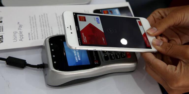 Apple-Bezahldienst nur in USA stark