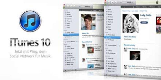 Apple: 1 Mio. Ping-Nutzer nach nur 2 Tagen