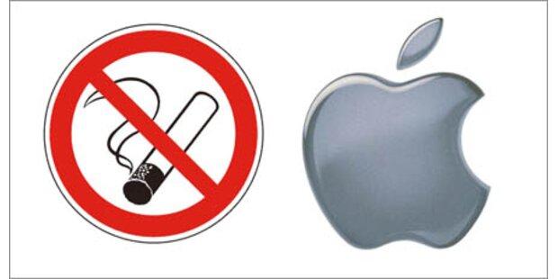 Fragwürdiger Raucherschutz bei Apple