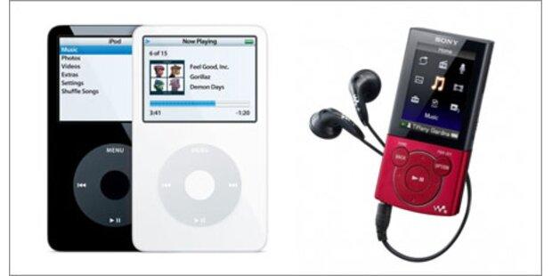iPod erstmals seit 2005 überholt