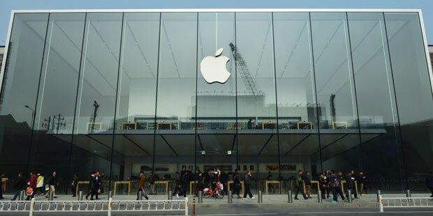 Apple ist weiterhin im Höhenflug