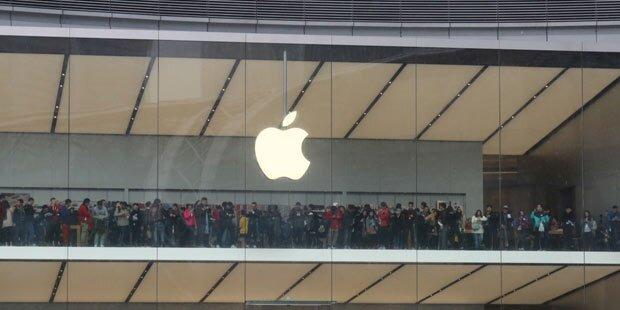 Apple muss kleiner Firma 572 Mio. Euro zahlen