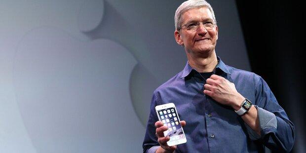 Apple-Chef räumt iPhone-Krise ein