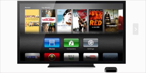Apple verhandelt mit TV-Kabelfirmen